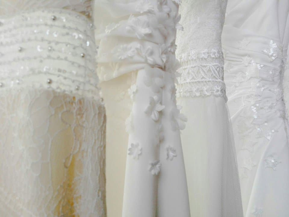 creating unique wedding dresses